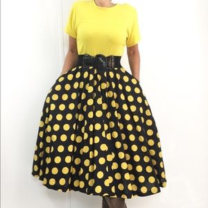 Vintage Polka Dot Rockabilly Dress